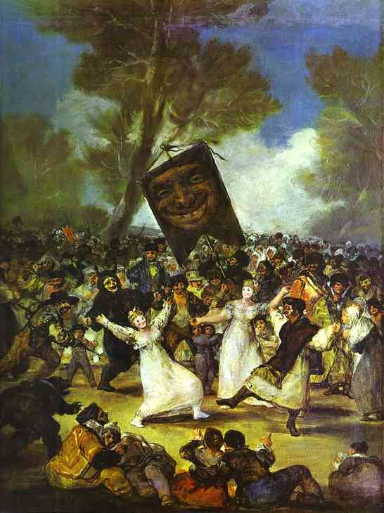 Goya O Enterro da Sardinha